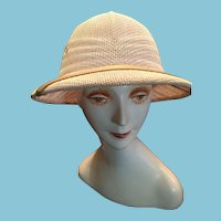 1980s White Safari helmet or British Pith Helmet