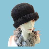 1960s Lady's Designer Chapeau from Ellen Faith, Paris and New York.