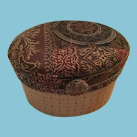 Jennifer Taylor Brocade Fascinator Hat Box
