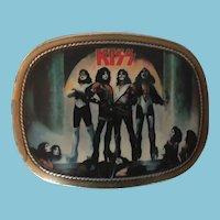 1977 Kiss Destroyer Brass Belt Buckle by Pacifica Mfg