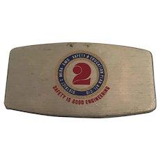 Circa 1950s AFL-CIO 'Zippo'  Pocket Personal Care Jack Knife