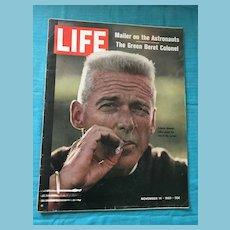 November 14, 1969 Life Magazine : Astronauts; Green Beret Colonel