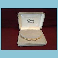 Vintage Majesty Collection Cubic Zirconia Bracelet