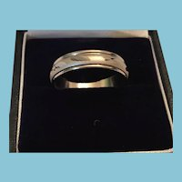 1960s Inscribed Silver-Toned Metal Sweetheart Friendship Ring