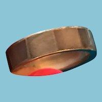1970s Blue/Grey Puka Shell Friendship Band Ring