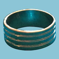 Inscribed Four Tier Pinky or Child's Ring Band