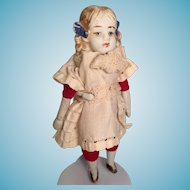 Vintage Japanese Bisque Little Doll 小さな人形
