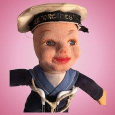 Vintage Norah Wellings Souvenir SS Crerdes Sailor Doll