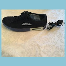 Circa 1990 Fully-Functioning Blue Suede 'Sports Illustrated' Tennis Shoe Telephone