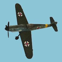 WWII German Hand-Made Resin Focke-Wulf Fw 190 Fighter Aircraft
