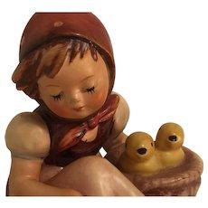 Vintage Goebel 'Chick Girl' Hummel Figurine Marked 57/0. 82