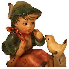 Vintage Goebel 'Singing Lesson' Hummel Figurine Marked 63.6