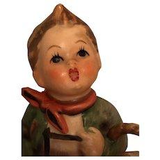 Vintage Goebel 'Village Boy' Hummel Figurine Marked 513/0.