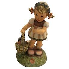 "Berta Hummel Inspired 'Spring Blossoms' 6"" Goebel Figurine"