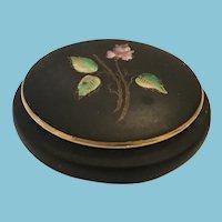 Royal Porzellan Bavaria Handpainted Trinket Box and Lid