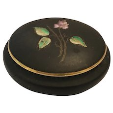 Royal Porzellan Bavaria Handpainted Trinket Box and Lid