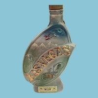 1969 Jim Beam Commemorative Decanter for 'Las Vegas' 'Hoover Dam and Lake Mead'