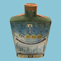 1970 Jim Beam 100th Anniversary Decanter for 'Reno'