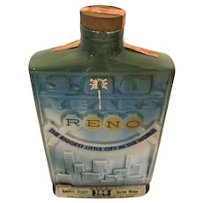 1970 Jim Beam 100th Anniversary Decanter for 'Reno'