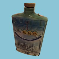 1968 Jim Beam '100 Years Reno - Cal-Neva Casino Hotel Reno- Lake Tahoe' Decanter
