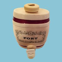 Signed 'Royal Victoria, Wade, England' Port Wine Decante