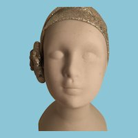 Mysterious Unglazed White Porcelain Lady Head and Shoulders