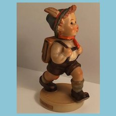 1950s-60s Goebel 'School Boy' Hummel Figurine with Open winged Bee