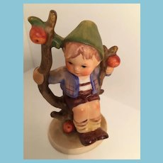 1960s Goebel 'Apple Tree Boy' Hummel Figurines with Open Winged Bee Mark