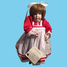 Beautiful Porcelain Doll Artist Made for Rob McIntosh/ Apple Gallery