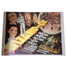 Wizard of Oz 1939 Movie Poster 20x28 - 1967 Original Reprint Portal Publications