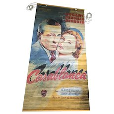 Roll-up Window Covering  of Classic 1942 Casablanca Poster