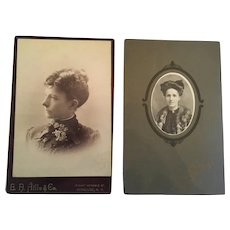 She's a Lady - Circa 1900s Signed and Matted Black and White Photographs