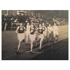 Circa 1920's Marathon Photo Postcard