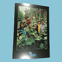 """1996 Apple Corp Mounted 36"""" x 24"""" Poster of 'The Beatles'"""