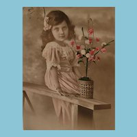 Edwardian Hand Tinted French Postcard