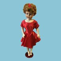 "1950s 28"" Miracle Vinyl Super Market Premium Doll"
