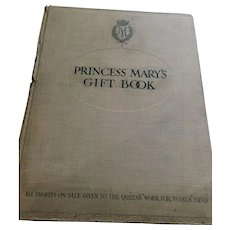 1914 Princess Mary hardcover Gift book by Hodder and Stoughton, Toronto