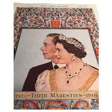 The Illustrated London News: May 1, 1948: Royal Silver Wedding Anniversary