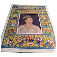 Vintage Royalty: The Illustrated London News: August 22, 1959: The Royal Visit to Canada