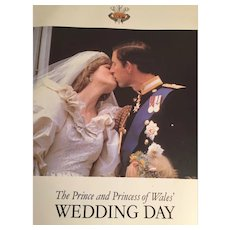 1981 Royal Wedding of Lady Diana and Prince Charles magazine