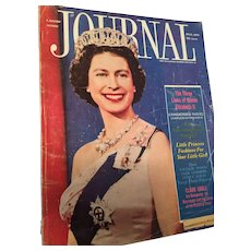 Ladies Home Journal Magazine featuring 'The Three Lives of Queen Elizabeth II' Condensed Novel