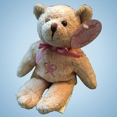 Very Rare Avon Canada Breast Cancer / Pink Ribbon Bear