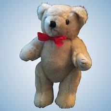 Sweet Poseable Plush Beige Wooly Bear