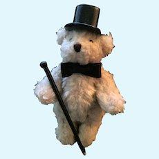 1990 FuzzyWuzzy Wuzza Bear Fine Gentleman