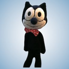 "1982 Plush Felix the Cat - ""the wonderful, wonderful cat"" by Ganzbros"