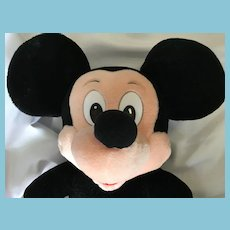"Classic 24"" Soft Body Plush Mickey Mouse Made for 'The Walt Disney Company'"