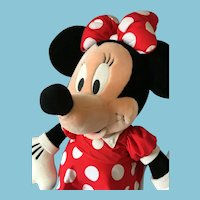 "Classic Vintage 32"" Soft Body Plush Minnie Mouse"