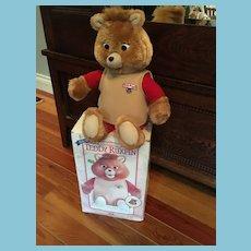 Rare 1985 original Teddy Ruxpin the Talking Bear in Original Box