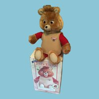 Rare 1985 original Teddy Ruxpin the Talking Bear in Original Box