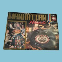 Circa 50s -60s Complete Hanayama's Manhattan Roulette Set